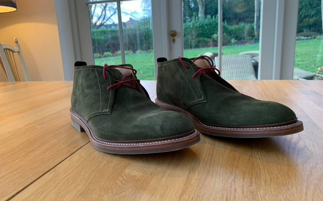 One Green Shoot, Two Green Shoes